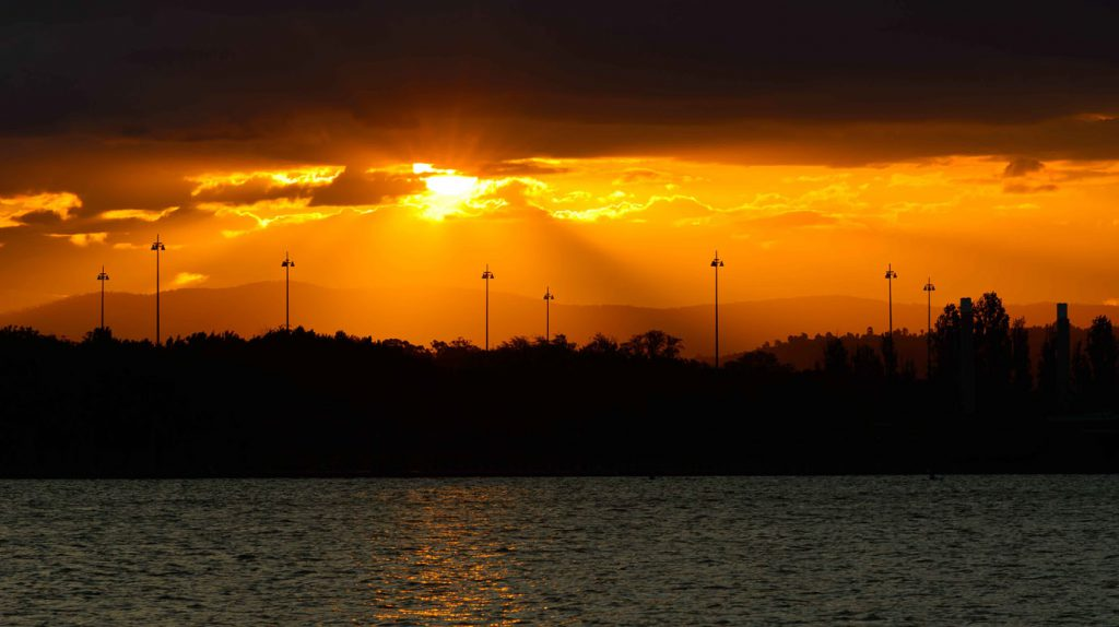 Carpark Sunset