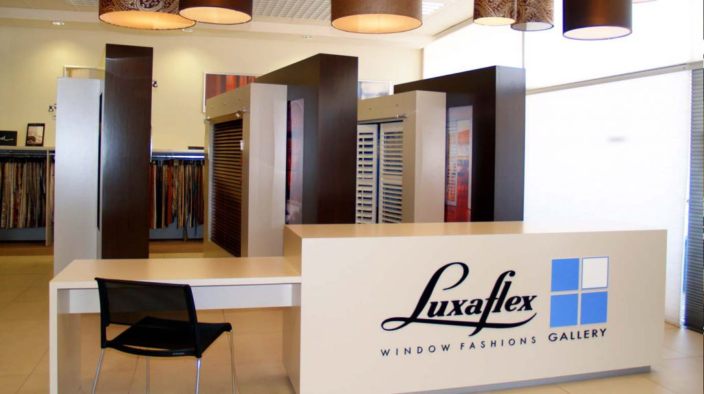 Luxaflex Showroom